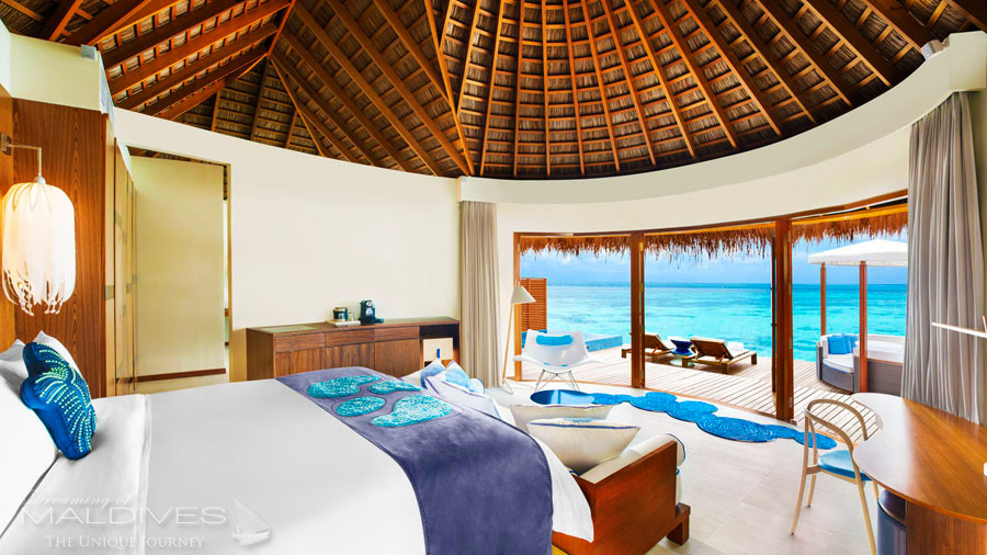 Avis h tel w retreat spa maldives h tel de r ve des - Maison sur pilotis maldives ...