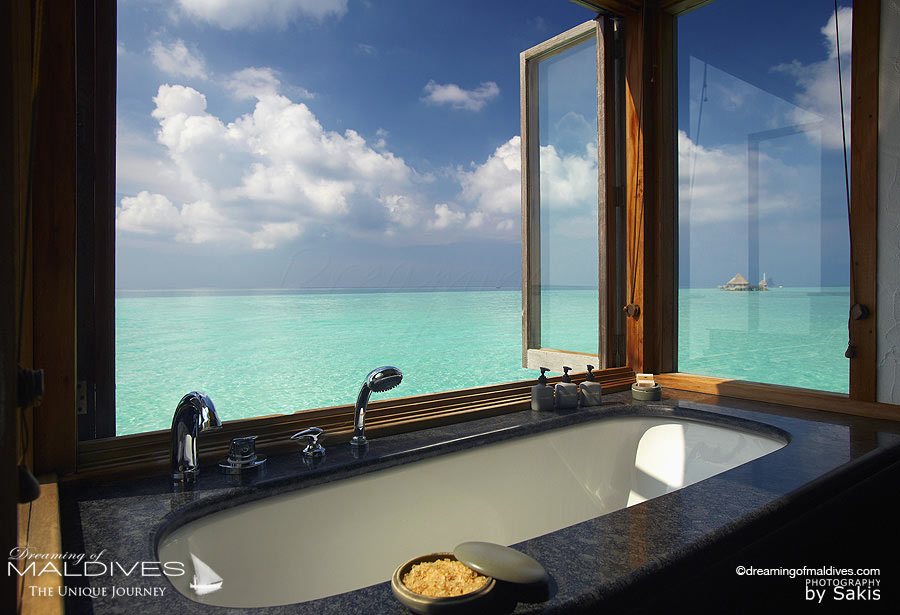 Gili Lankanfushi Maldives Bathroom with a View