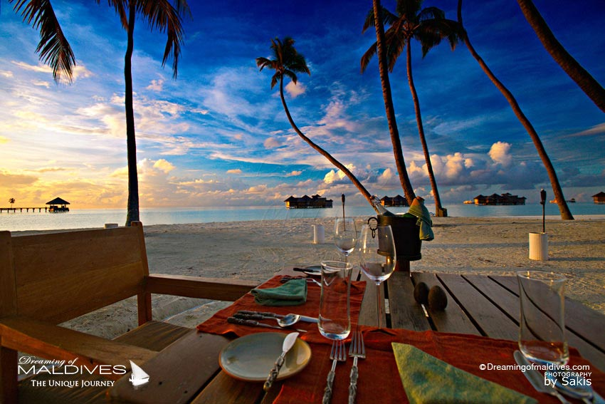 Gili Lankanfushi Maldives Dreamy Dinner on the beach