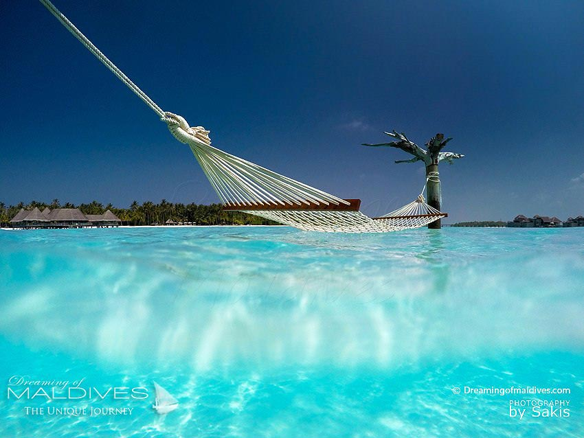 Gili Lankanfushi Maldives Hammock in the Lagoon