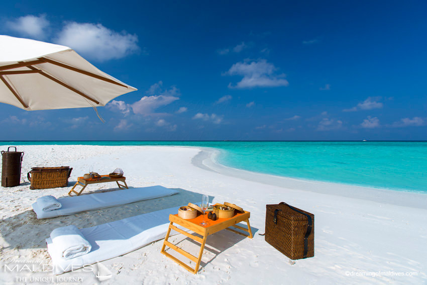 Gili Lankanfushi Maldives Private Excursion on a Sandbank