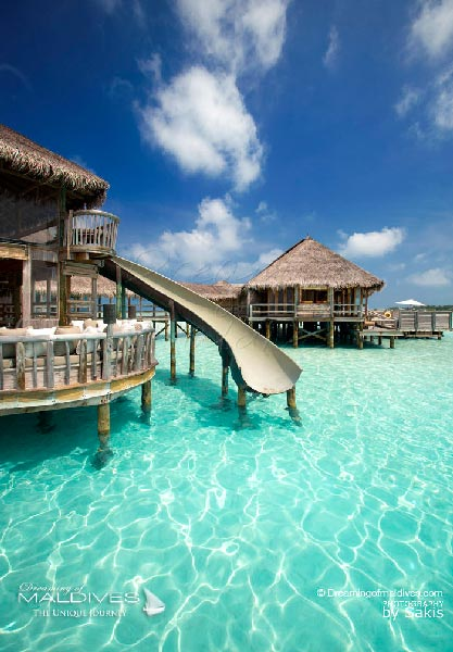 Gili Lankanfushi Maldives The Private Reserve Waterslide