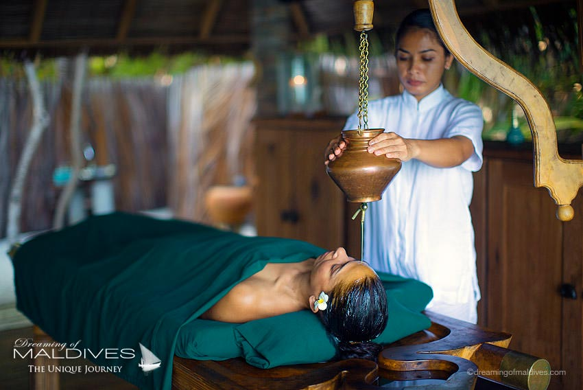Gili Lankanfushi Maldives Ayurveda treatment at the Spa