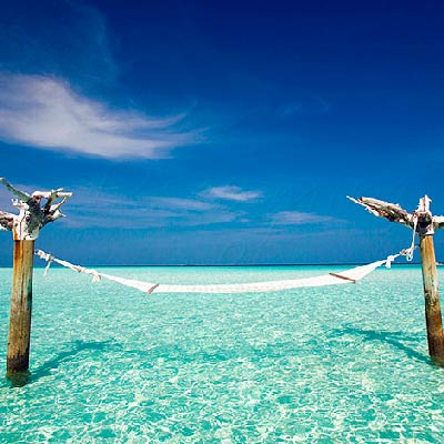 Gili Lankanfushi Maldives best Moment and Place Lay in a Hammock in the middle of the lagoon