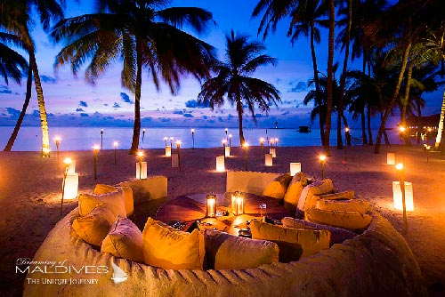 Gili Lankanfushi Maldives - Horizon For Very Special Dinners and Gourmet Barbecues on the beach, your toes into the sand.