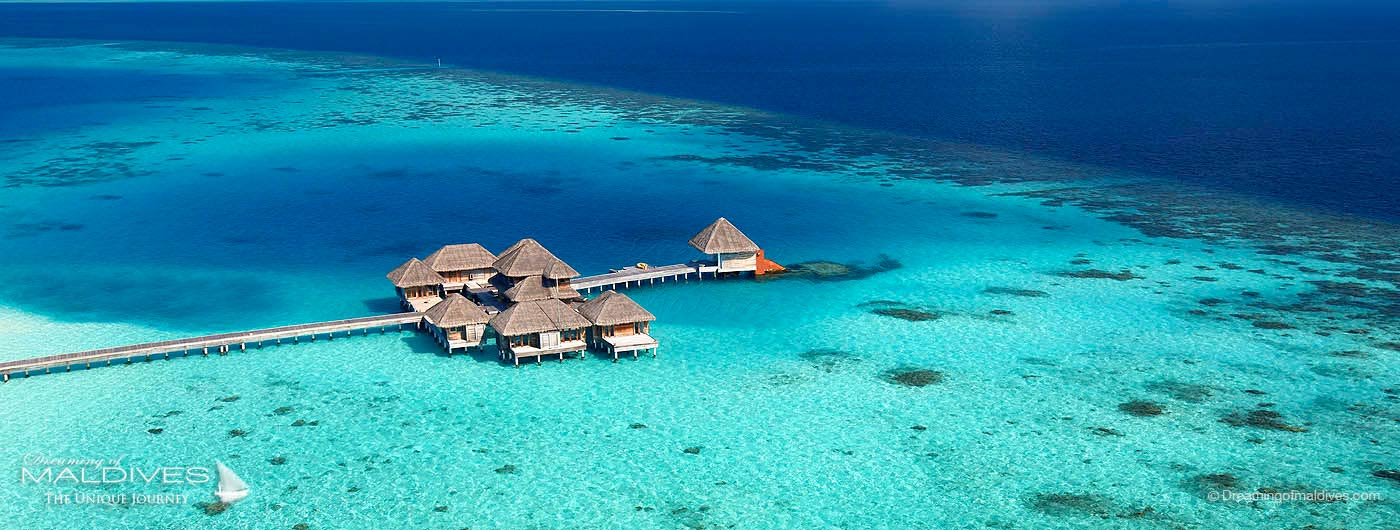 Huvafen Fushi Maldives spa and underwater spa