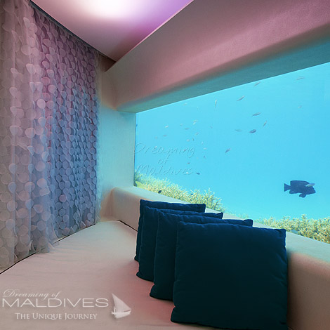 Huvafen Fushi Have a Massage at the Underwater Spa