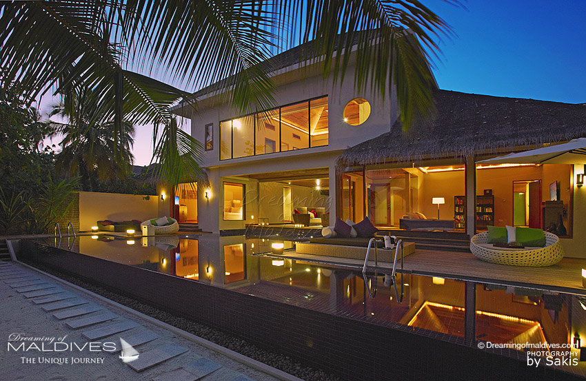 Huvafen Fushi Maldives Three Bedroom CUBE with Pool. 463 m2