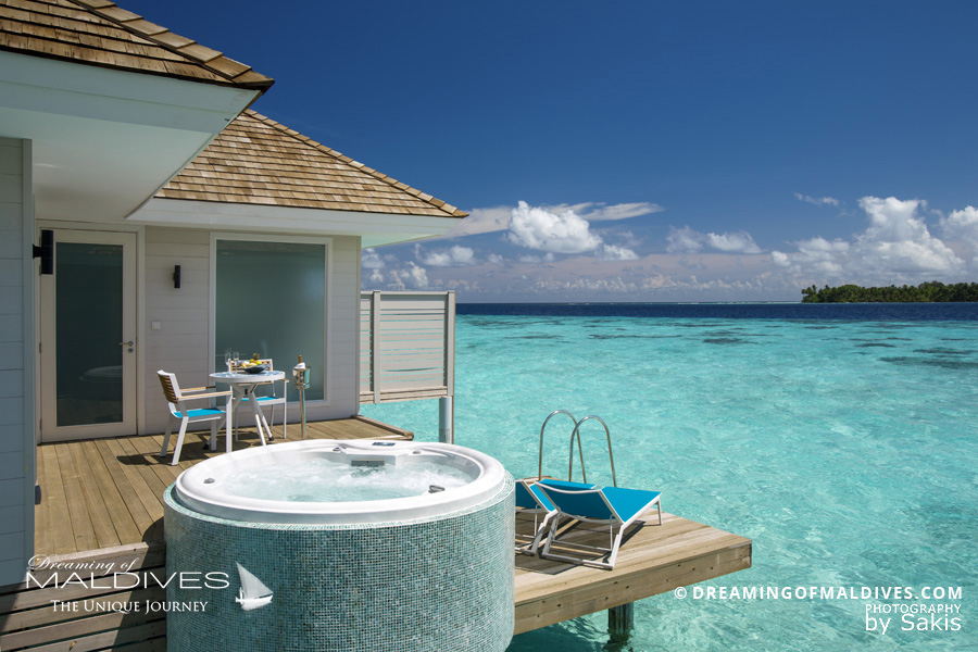 Kandima Maldives Aqua Villa & Jacuzzi - The view