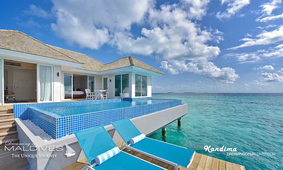 Kandima Maldives Honeymoon Aqua Pool Villa