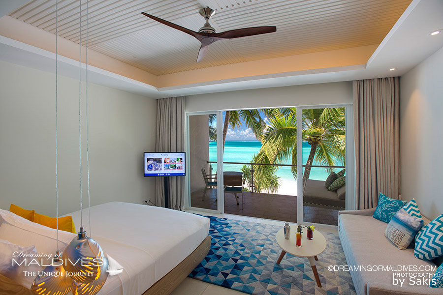 Kandima Maldives View from a Sky Studio Bedroom
