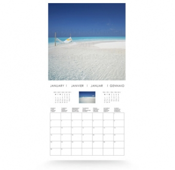 Days Of Islands Picture A Day Wall Calendar