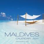 wall calendar 2011 Maldives islands