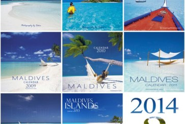 Our new 2014 Maldives Islands Wall Calendar is on its way !
