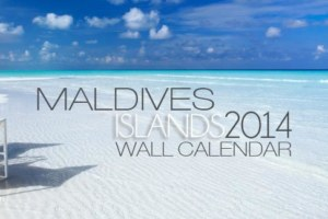 2014 Maldives Islands Wall Calendar