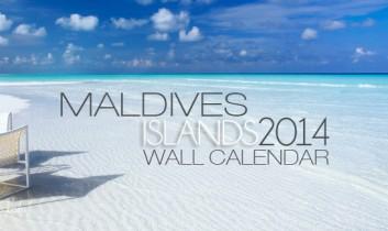 2014 Maldives Islands Wall Calendar