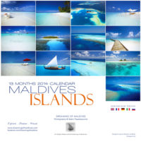 2014 Islands Wall Calendar - Maldives