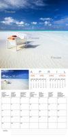 2014 Islands Wall Calendar