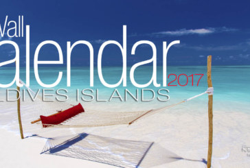 2017 Maldives Wall Calendar. 13 Photos. 13 Months