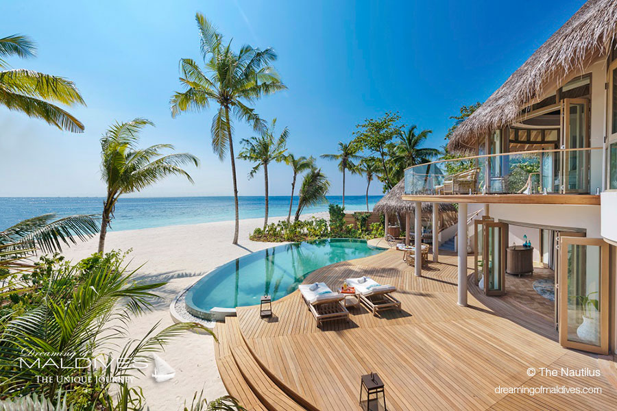 Maldives New Hotel Opening 2018 The Nautilus A Super Luxury Island - Beach Residence Exterior