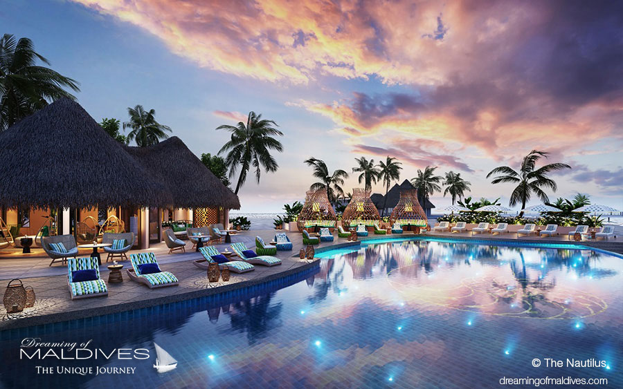Maldives New Hotel Opening 2018 The Nautilus A Super Luxury Island - Swimming Pool.
