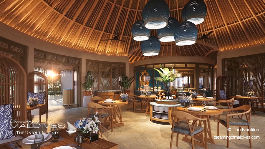Maldives new hotel opening 2018 The Nautilus restaurants and bars