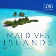 2018 Maldives Islands Tropical Wall Calendar