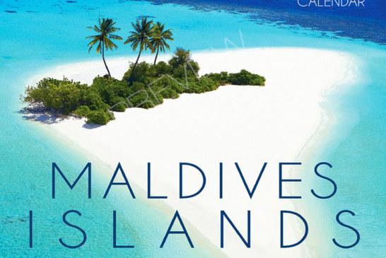 2018 Maldives Wall Calendar. 13 Photos. 13 Months