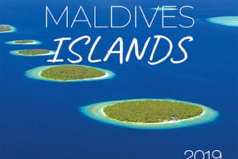 2019 Maldives Wall Calendar. 13 Photos. 13 Months