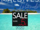 2020 MALDIVES WALL CALENDAR sale