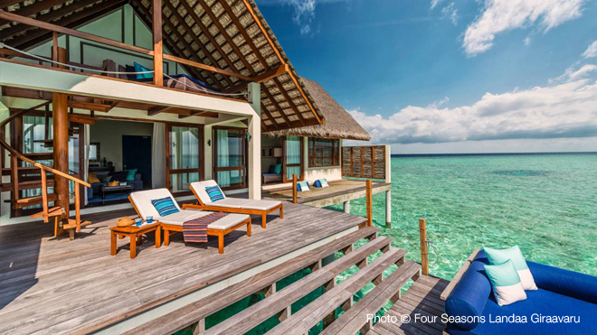 Maldives top 10 Resorts 2013 Four seasons Landaa Giravaaru