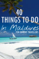 Pinterest 40 Things To Do In Maldives for Exigent Travellers