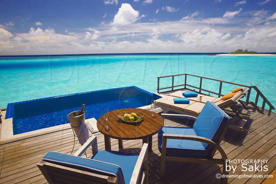 Anantara Dhigu Maldives, A dreamy View from the Water Villas