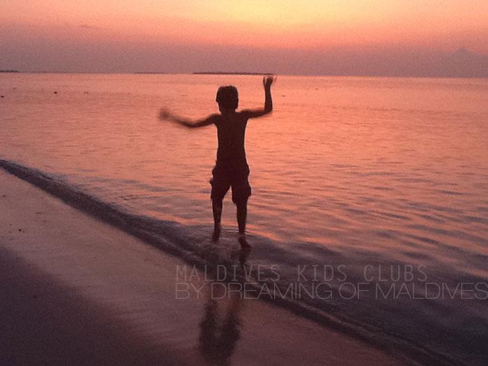 Kids In Maldives