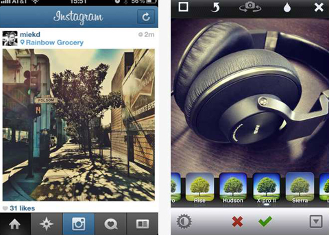 Instagram app for iPhone and iPad -