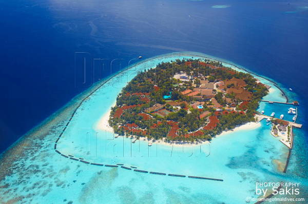 kurumba maldives aerial view photo gallery