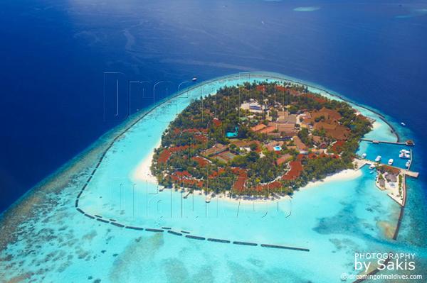 kurumba maldives aerial view photo gallery