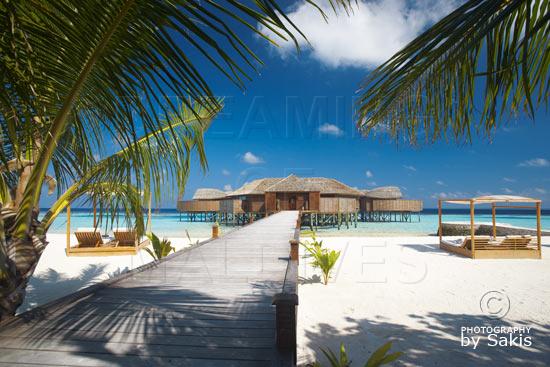 Lily Beach Maldives The Spa Entrance