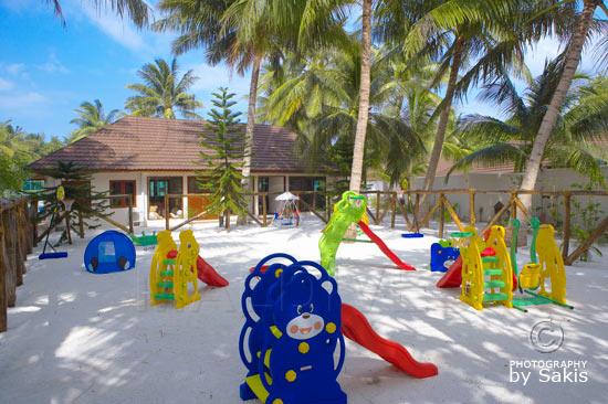 Lily Beach Maldives Kids Club Playground