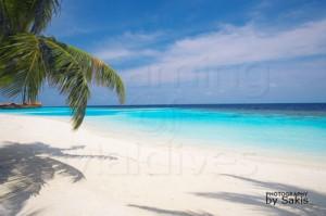 Maldives Lily Beach Resort and Spa beach and lagoon