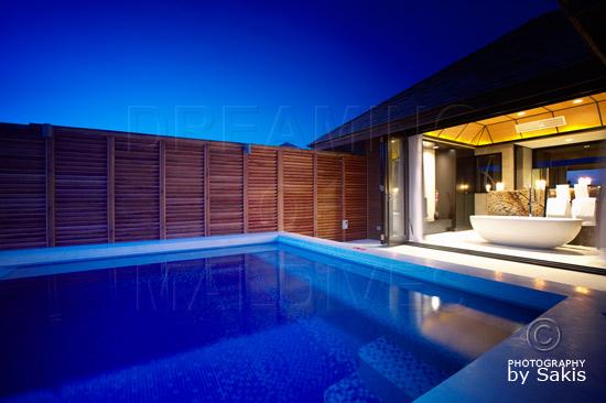 Lily Beach Maldives - Water Villa Open Bathroom