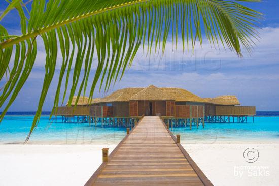 Lily Beach Maldives Tamara Spa entrance