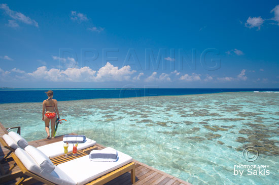 Lily Beach Maldives- Direct access to Snorkeling from the Water Villas