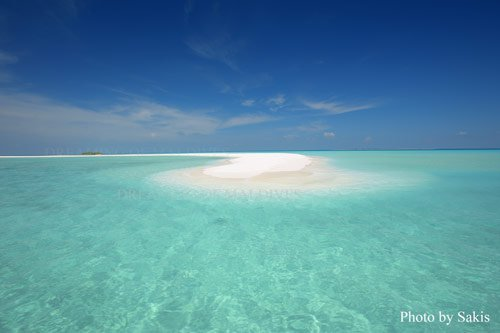 sandank in Maldives a fragile environment