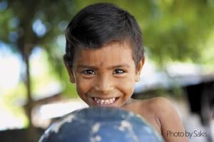 Maldivian child