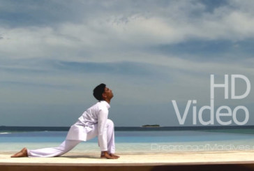 Yoga in Maldives, learn The Sun Salutation in HD