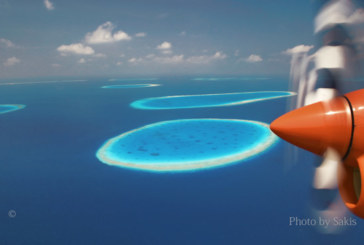 Photo of the day Maldives blue rings aerial view