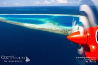 Photo of Maldives – Aerial View of the Maldives Islands