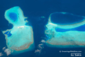 Photo of The Day : Maldives amazing landscapes from the air.