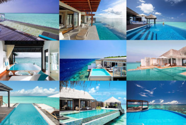10 Splendid Water Villas with Pools in Maldives